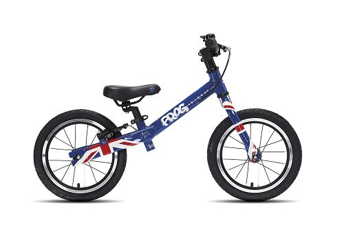 Loopfiets Tadpole Plus Union Jack
