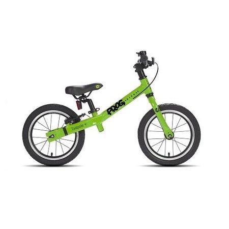Frog Bikes Loopfiets Tadpole Groen - luxe voor 3-4 jaar!