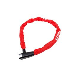 Steel Security Kettingslot Pro-force 110 CM - 8 MM - Rood