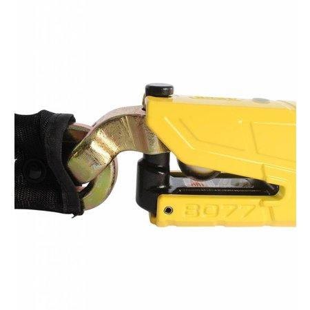 ABUS Granit Detecto 8077 + 12 mm x 120 cm ketting met loop