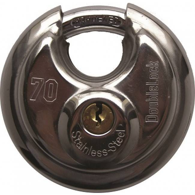 Discus Lock 70 mm K.A. - gelijksluitend