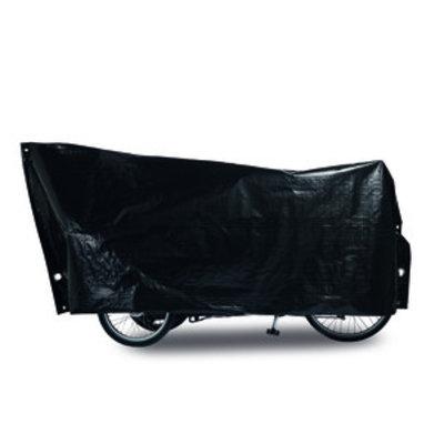 Bakfietsbeschermhoes Cargo Bike Zwart