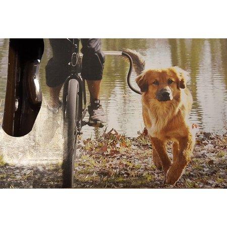 Cycleash Hondenriem voor fiets - ergonomisch, veilig en schokvrij