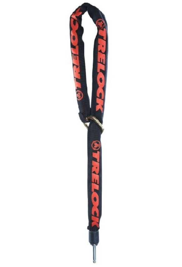 ZR Insteekketting 455 Zwart-rood - 140 cm