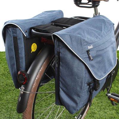 Beck Dubbele fietstas Sporty 30L Blauw