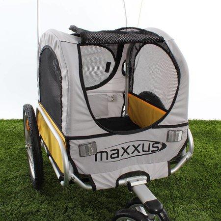 Hondenfietskar KidsCap Minimax Geel/Grijs