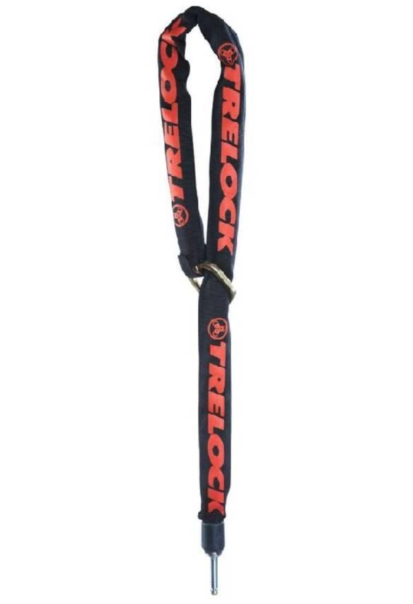 ZR Insteekketting 355 Zwart-rood - 100 cm