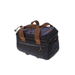 Basil Miles Trunkbag 7L Bagagedragertas Black brown