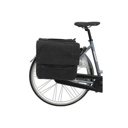 Fastrider Dubbele fietstas Urbag 39L Antraciet