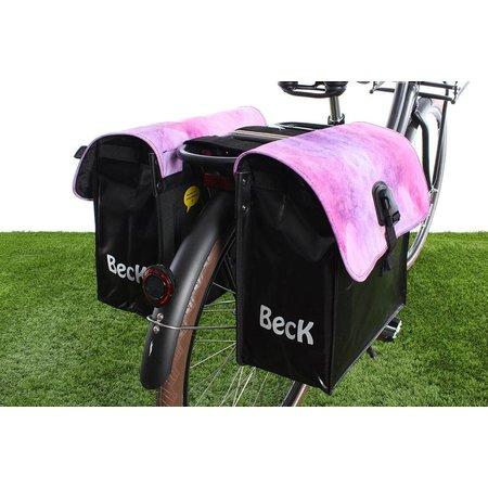 Beck Dubbele fietstas 35L Small Watercolors
