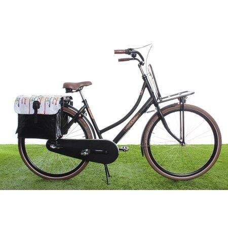 Beck Dubbele fietstas 35L Small Drippy