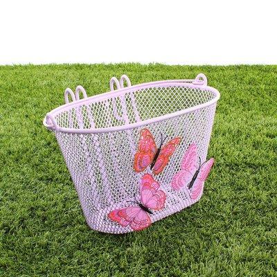 Basil Kinderfietsmand Jasmin Butterfly Lila