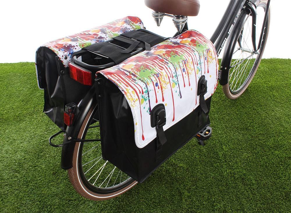 Vrolijke fietstas voor de lente!