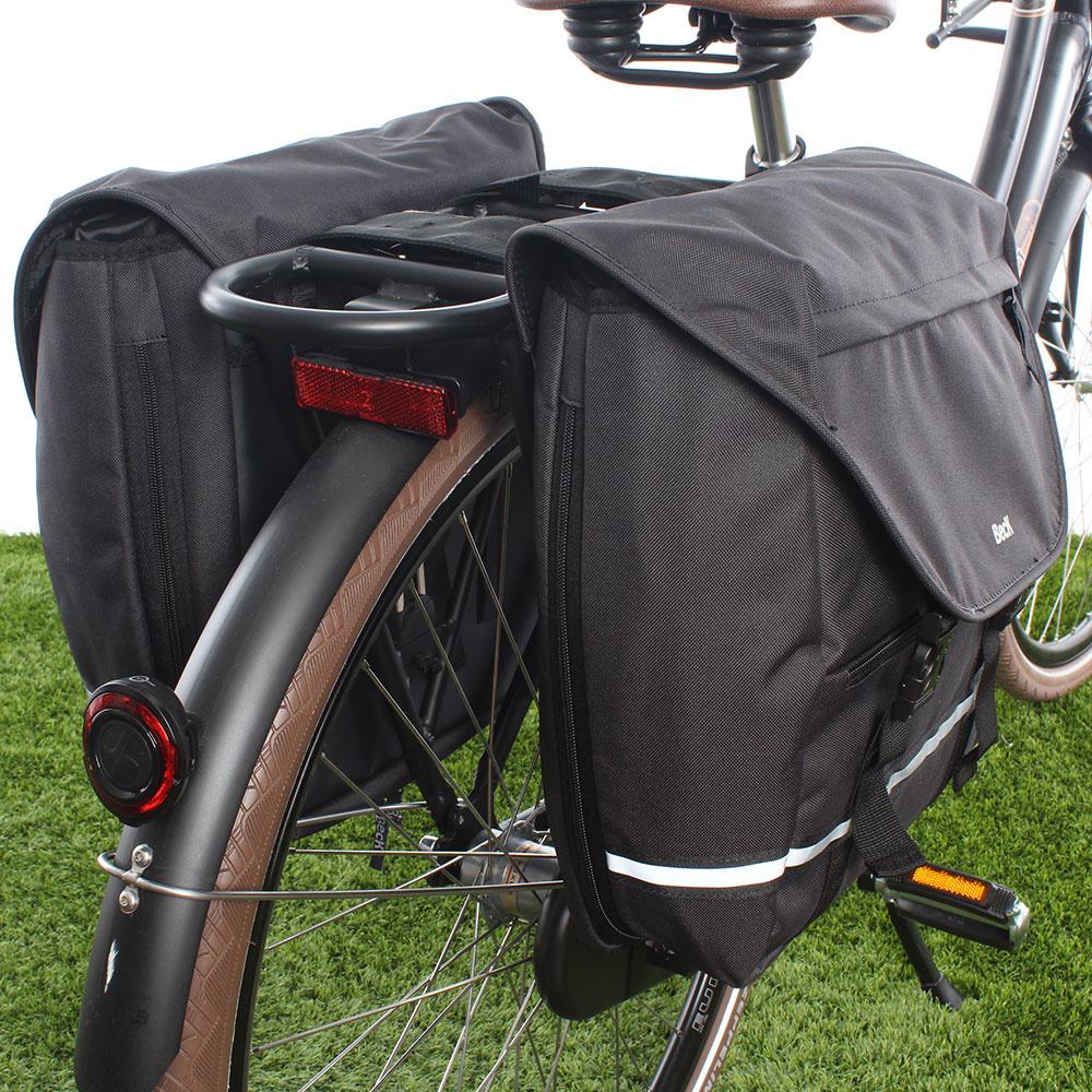 Dubbele fietstas SPRTV Color Grey 30L
