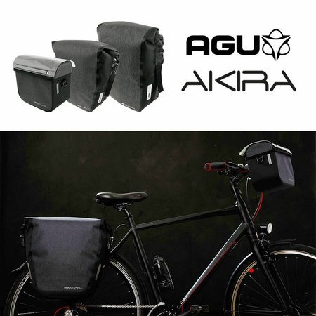 AGU Enkele Fietstas Akira 235 KLICKfix