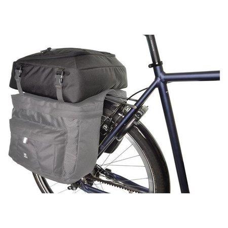 AGU Topvak Performance Essentials DWR 15L voor dubbele fietstas - waterafstotend
