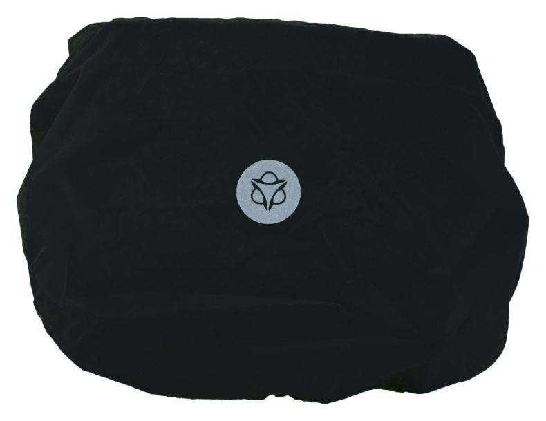 Regenhoes Essentials Zwart XS voor stuurtas