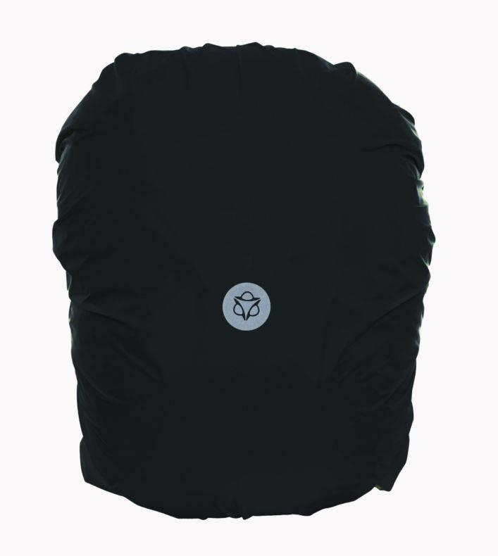 Regenhoes Essentials Zwart M voor voortas