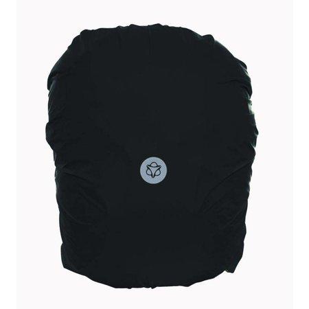 AGU Regenhoes Essentials Zwart L voor achtertassen