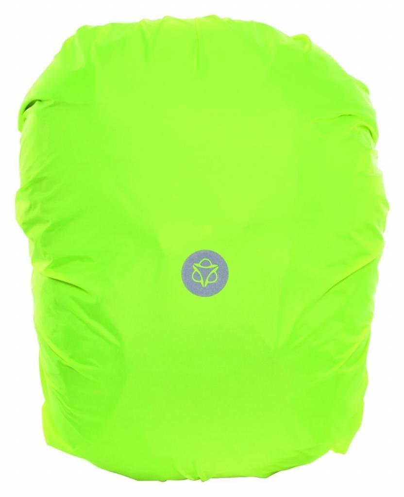 Regenhoes Essentials Neon Geel L voor achtertas