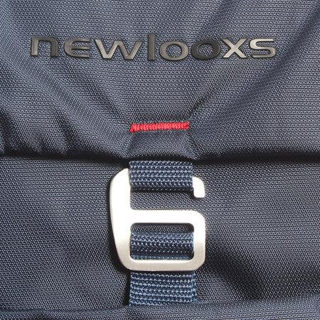 New Looxs Dubbele Fietstas Vigo Double 37L Blauw