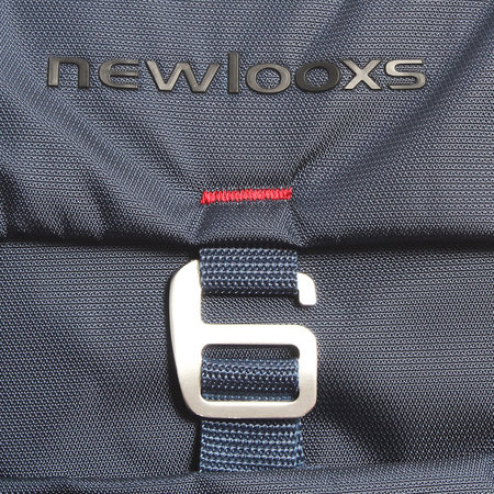 New Looxs Dubbele Fietstas Vigo Double Racktime 37L Blauw