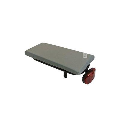 Hooodie Cushie Silver Solid