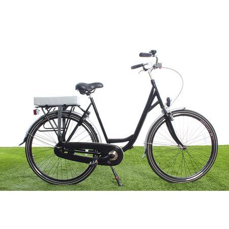 Hooodie Big Cushie Silver Solid - zacht fietskussen voor op bagagedrager
