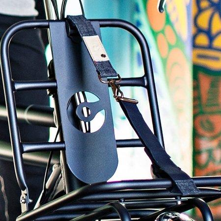 Cortina Bagageriem Kansas Luggage Belt Denim - voor op de voordrager