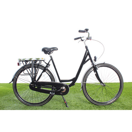 Hooodie Cushie Daisy's- zacht fietskussentje voor op bagagedrager