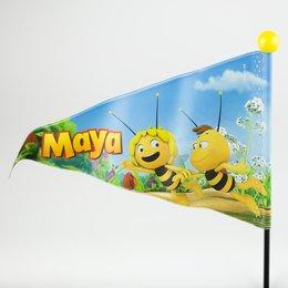 Studio 100 Fietsvlag Maya Zwart/Geel