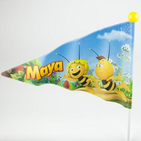 Studio 100 Fietsvlag Maya Wit/Geel