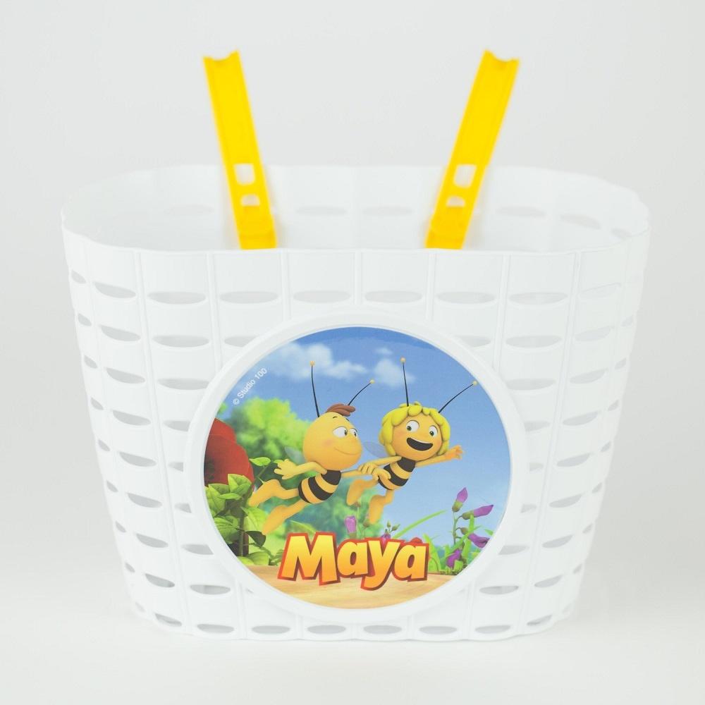 Kindermandje Maya Wit