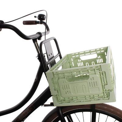 Urban Proof Inklapbaar fietskrat 18L Pastel groen