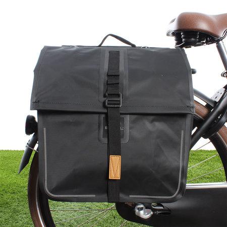 Basil Dubbele fietstas Urban Dry Double Bag MIK 50L Zwart