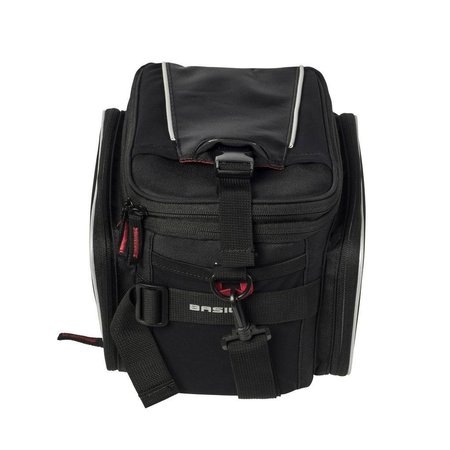 Basil Bagagedragertas Sport Design Trunkbag MIK 7-15L Zwart
