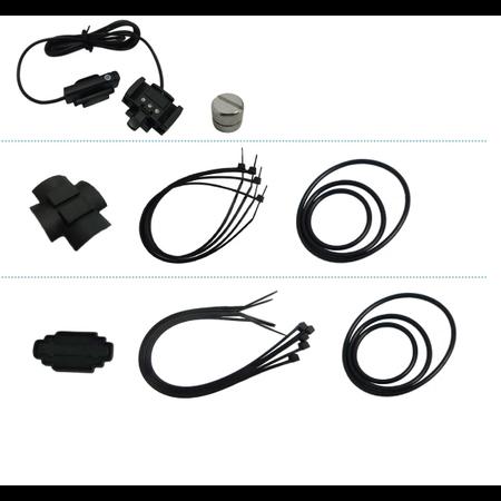 Echowell Fietscomputer U9 - Met kabel
