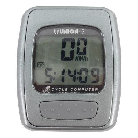 Union Fietscomputer bedraad met functies 5