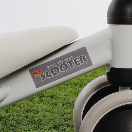 """PexKids Loopfiets Scooter Tri-bike 6"""" Wit"""