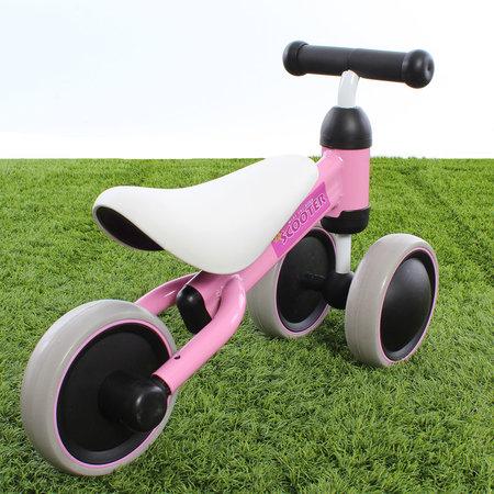 "PexKids Loopfiets Scooter Tri-bike 6"" Roze"