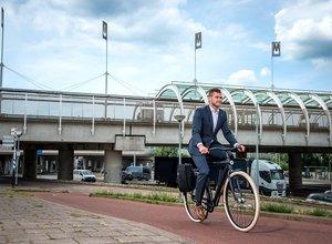 Meer Nederlanders op de fiets