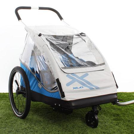 XLC Fietskar Duo Zilver/Groen