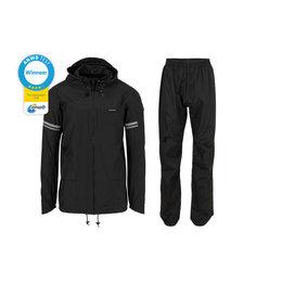 AGU Original Rain Suit - Regenpak Zwart - Maat XXXL