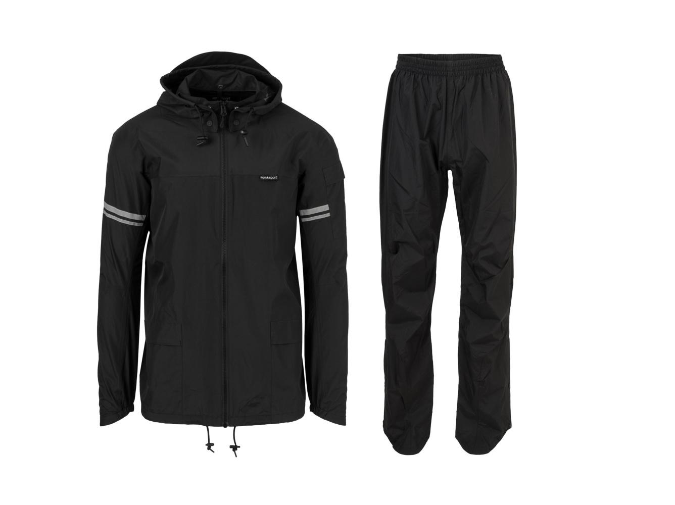 Original Rain Suit - Regenpak Zwart - Maat XL