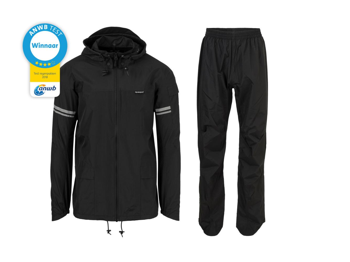 Original Rain Suit - Regenpak Zwart - Maat S