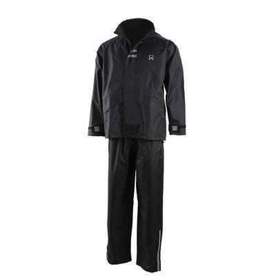 Willex Regenpak Zwart - Maat S