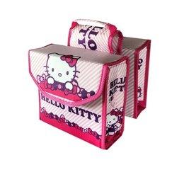 Kinderfietstas Dubbele Fietstas Hello Kitty