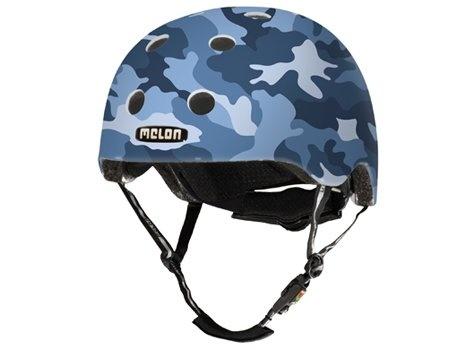 Kinderhelm Camouflage Blue M-L
