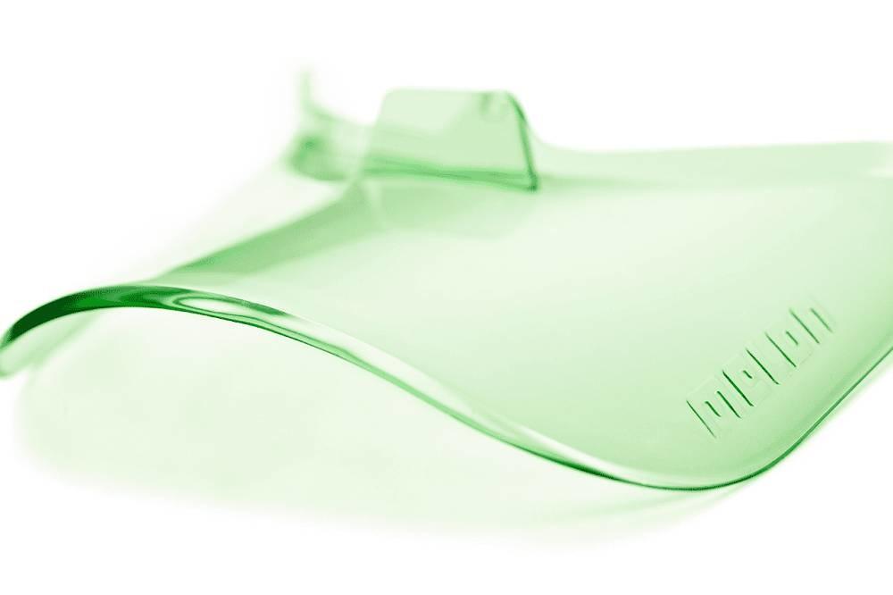 Helm Vizier Vista Visor UV400 Fresh Green