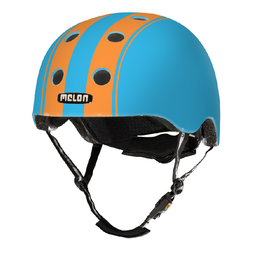 Melon Kinderhelm Dubble Orange Blue XXS-S